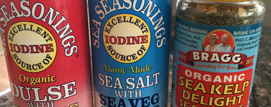 Sea Vegetable seasonings
