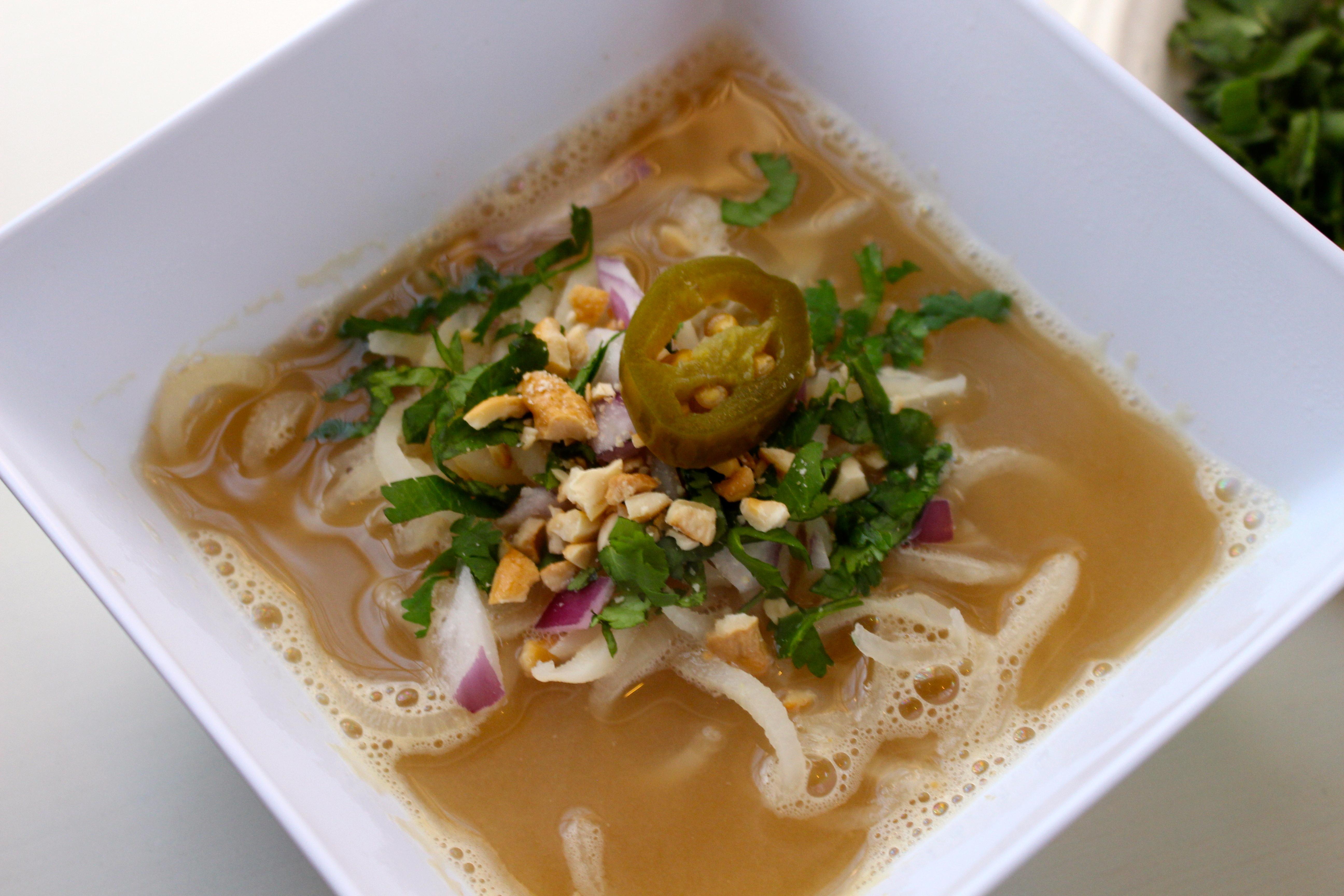 Daikon Pho Noodle Bowl