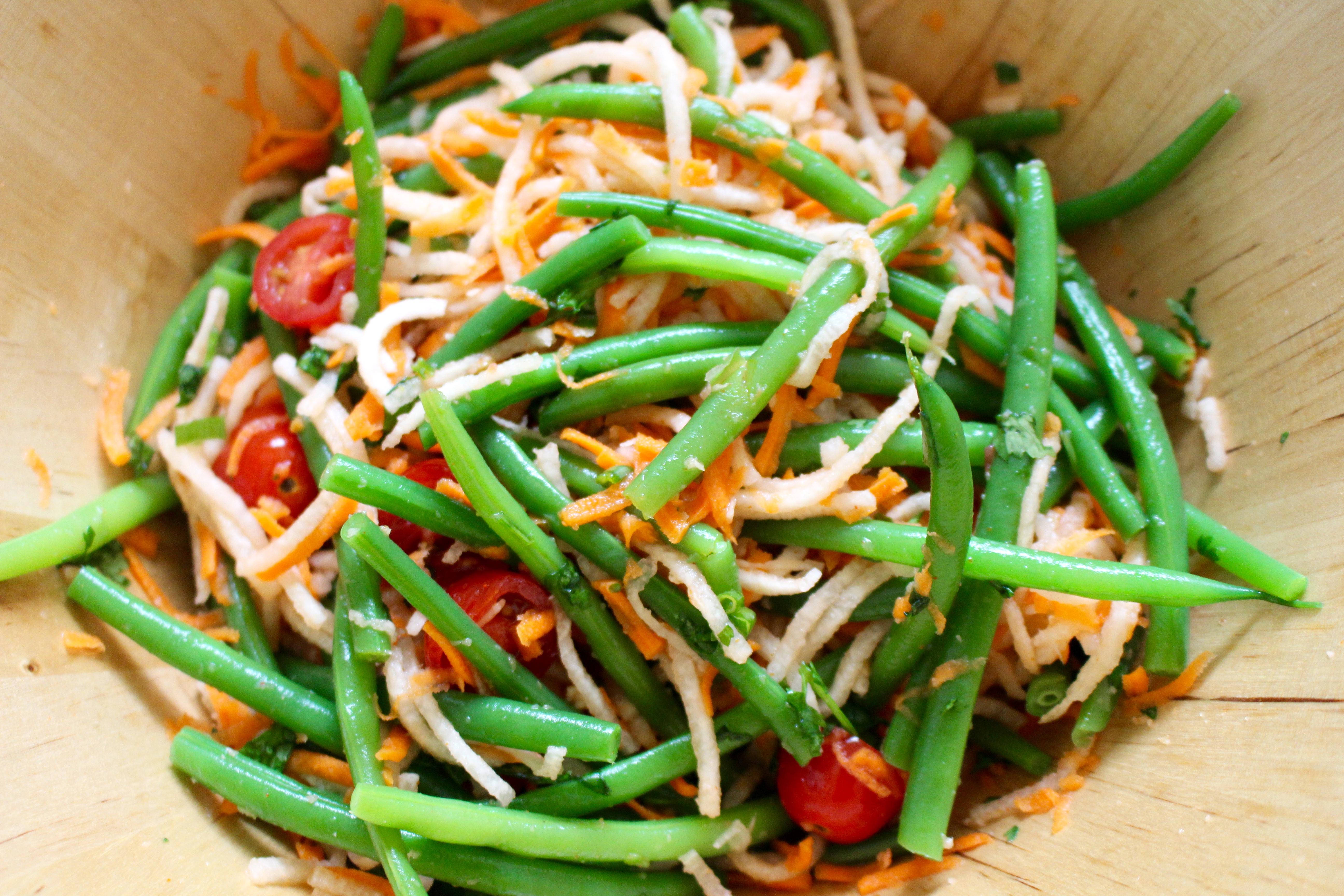 Jicama and Green Bean Salad