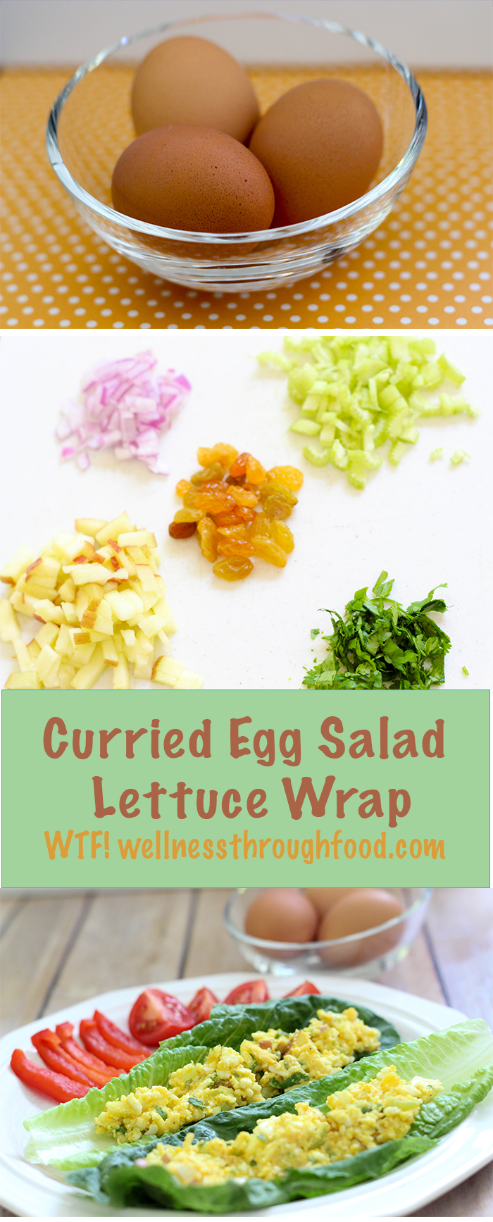 delicious change from chicken! Try this delicious curried egg salad