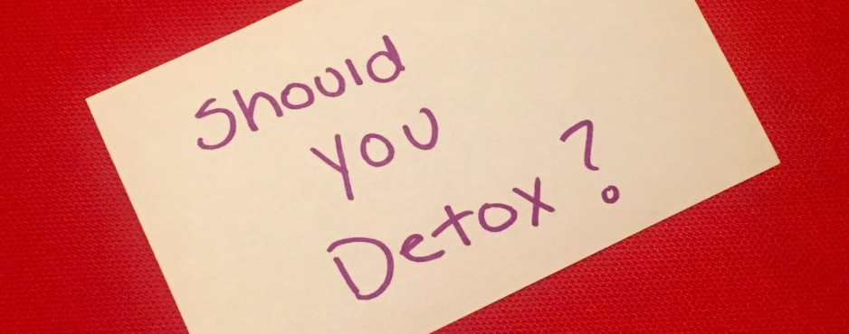Should you detox?